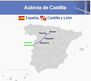 Fomento inicia la rehabilitación urgente del firme de la A-62 a su paso por las provincias de Salamanca, Valladolid y Zamora