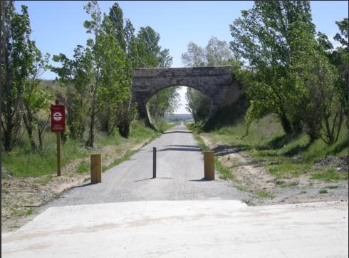 El Ministerio de Agricultura, Alimentación y Medio Ambiente finaliza la 2 fase de las obras para el acondicionamiento del trazado del ferrocarril en desuso Segovia – Medina del Campo