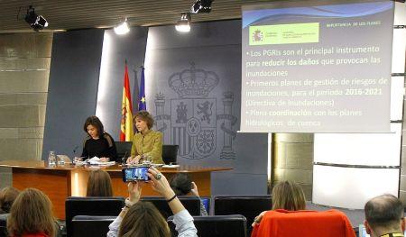 García Tejerina: los Planes de Gestión de Riesgo de Inundación aprobados hoy suman más de 1.000 medidas y una inversión de 800 millones de euros