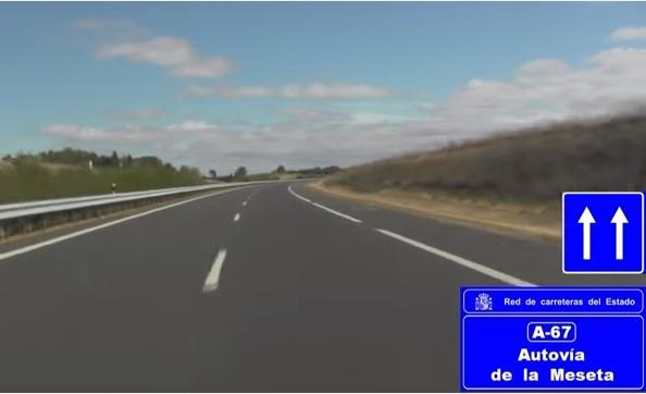 Fomento licita un contrato de servicios para redactar el estudio informativo de un nuevo acceso a la autovía A-67