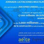 Jornada licitaciones Multilaterales