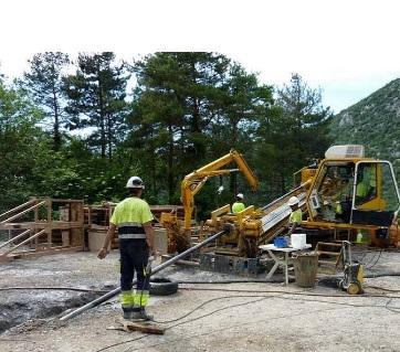 El Gobierno autoriza las obras de emergencia para la restitución de un tramo del colector de agua del Barredos, en Camponaraya (León)