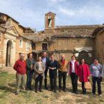 Trillo visita el convento de las Clarisas de San Bernardino Valladolid