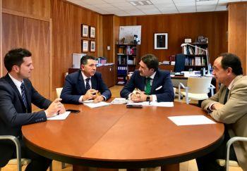 Castilla y León y La Rioja refuerzan su compromiso para avanzar en la mejora de las infraestructuras de comunicación y transporte