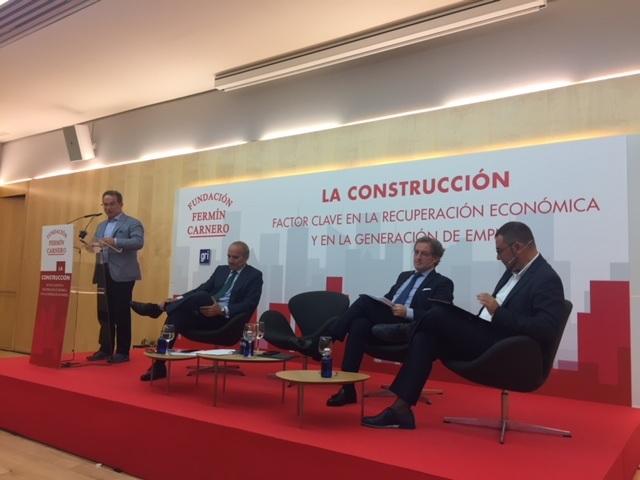 Jornada: La Construcción, factor clave para la recuperación económica.