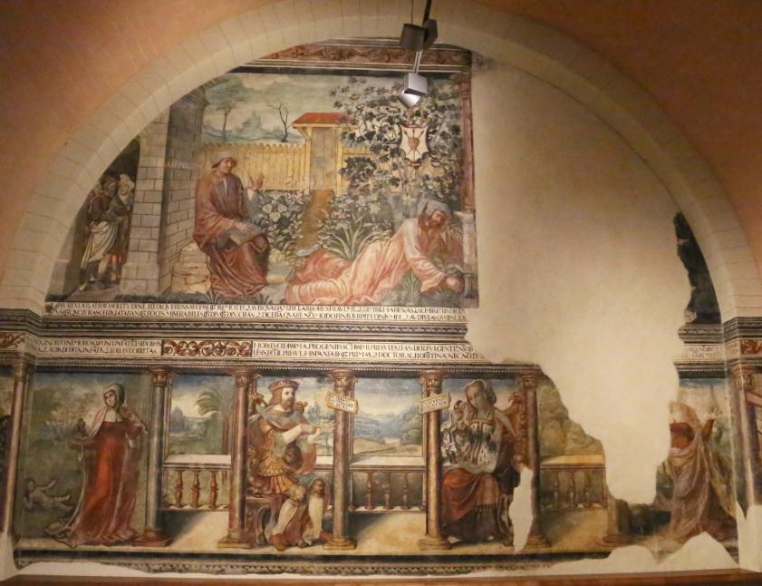 Una innovadora técnica de restauración recupera el aspecto del siglo XVI de la Cámara de doña Sancha en la Colegiata de San Isidoro de León